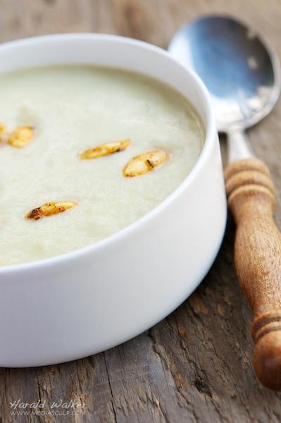 Celeriac and Artichoke Soup
