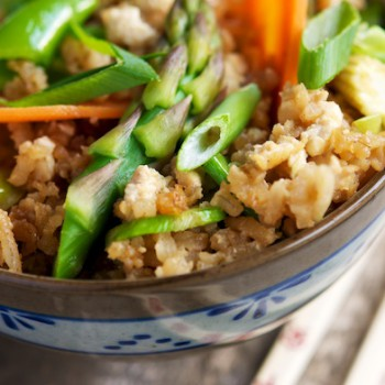 Fried Rice with Spring Vegetables