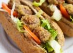 Mushroom Po' Boy Sandwich