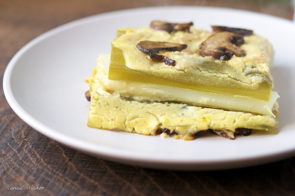 Asparagus Mushroom Lasagna