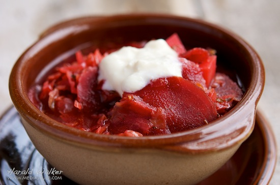 Authentic Russian Borscht