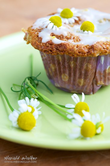 Chamomile Cloud Muffins