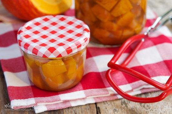 Sweet & Sour Pickled Pumpkin