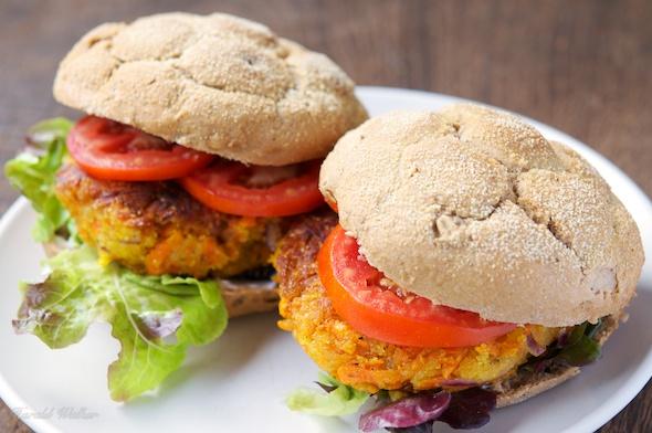 Vegan Carrot Burgers