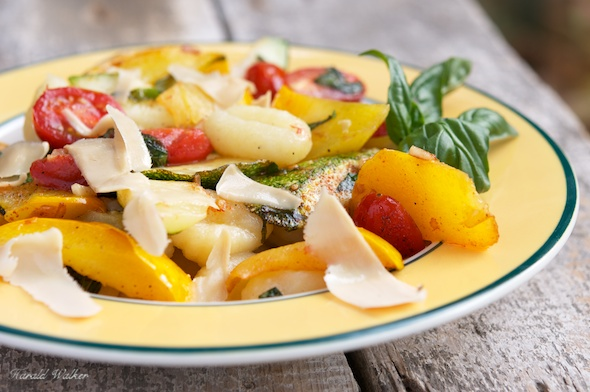 skewers penne with sweet summer vegetables pine nuts and herbs summer ...