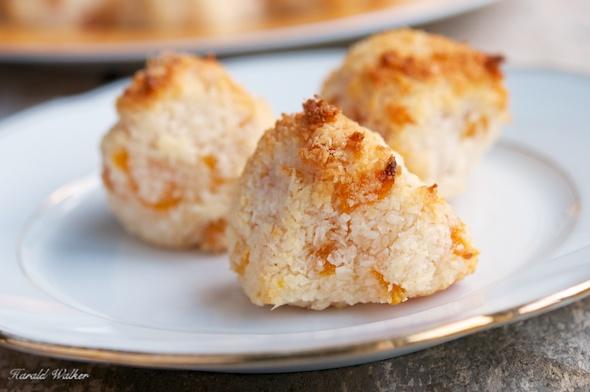 Vegan Apricot Coconut Macaroons
