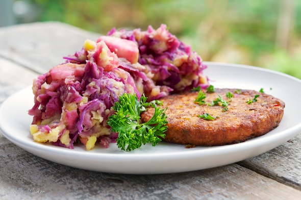 Red Cabbage Stamppot