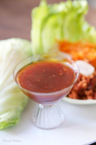 TVP Lettuce Wraps