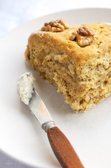 Vegan Savory Double-Walnut Scone