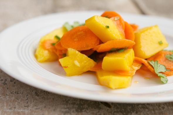 Carrot Mango Salad