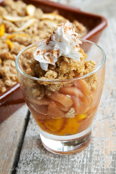Squash and Apple Pie Crisp