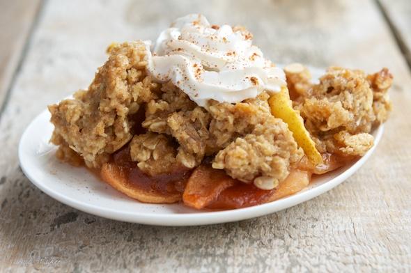 Squash and Apple Pie Crisp