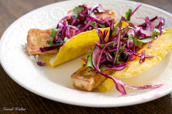 Baja Tofu Tacos