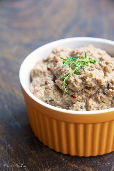 Mushroom and Walnut Pâté