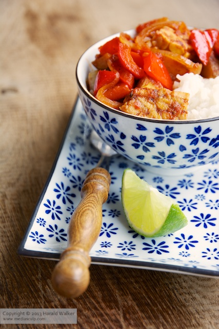 Tempeh Menudo - Click here to license this photo from Stocksy