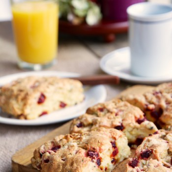 Savory Beet and Feta Scones - Click here to license this photo from Stocksy