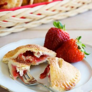 Strawberry Apple Hand Pies