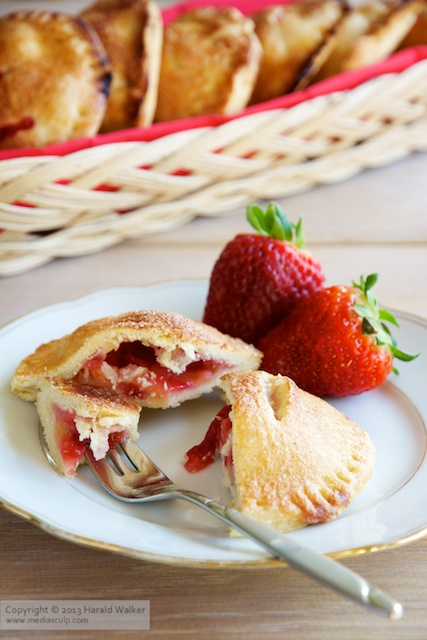 Strawberry Apple Hand Pies