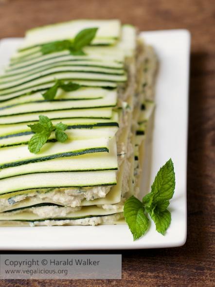 Zucchini Lasagna Salad
