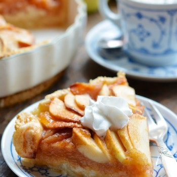 Vegan Almond-Apple Tart