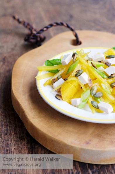 Rutabaga Mango Salad