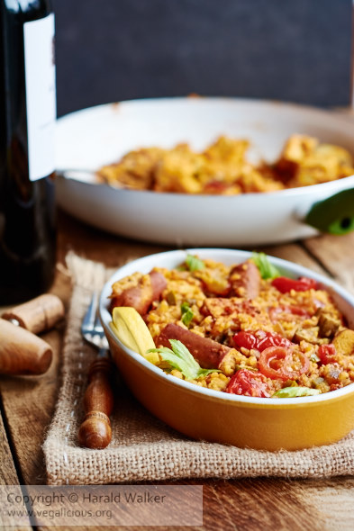 Vegan Creole Rice