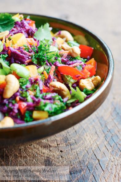 Asian slaw salad