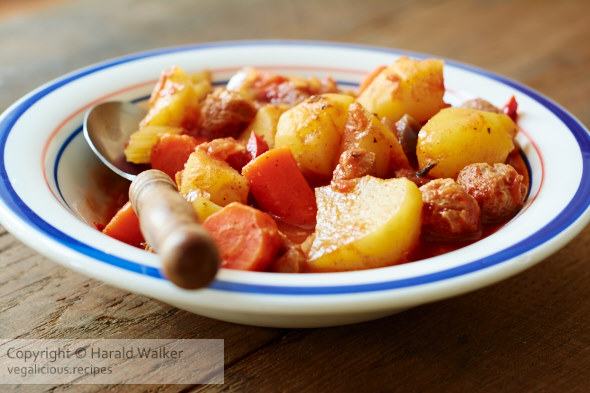 Vegan Chuck Wagon Stew