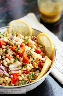 Lentil and Pearl Couscous Salad