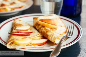 Apple, Sauerkraut, & Vegan Cheese Quesadillas