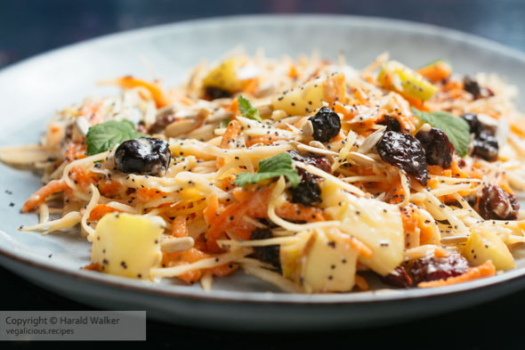 Super Slaw – Winter Coleslaw with Apples and Dried Superfruits