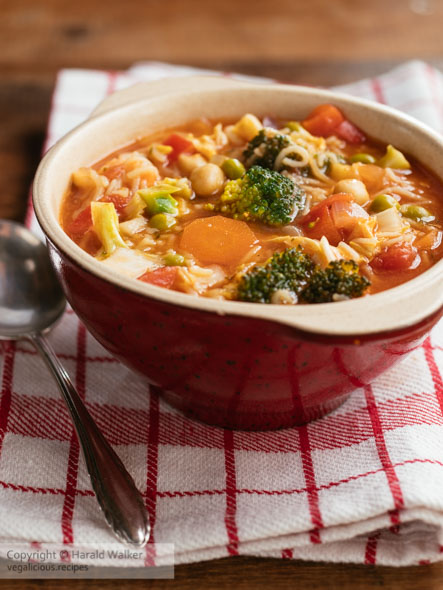 Minestrone Vegetable Soup