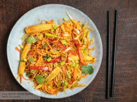 Sweet Potato Chow Mein