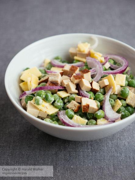 Vegan Pea Salad