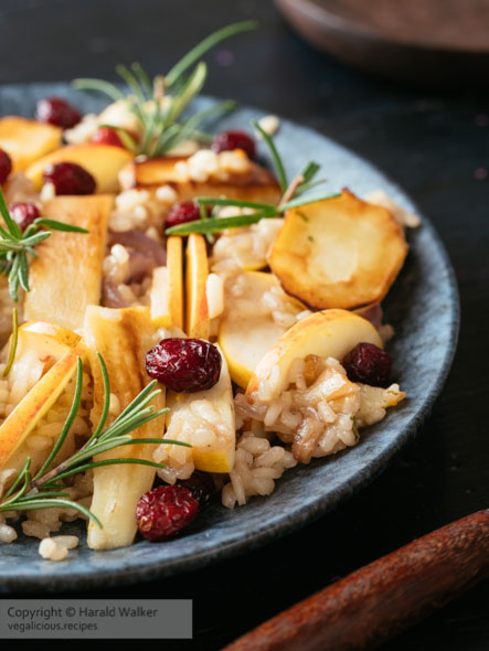 Parsnip Apple Risotto