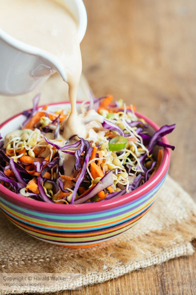 Review: Winter Slaw with Sprouted Lentils