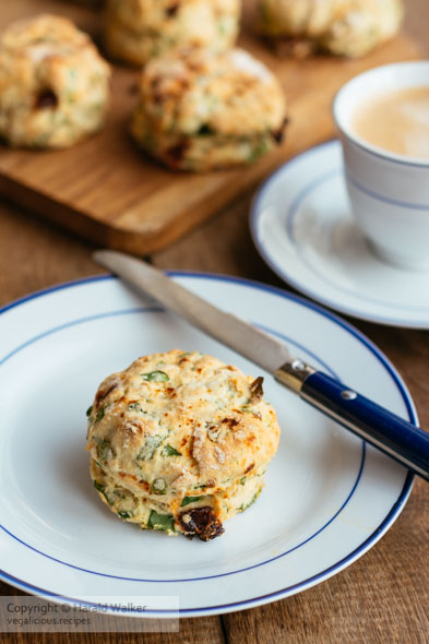 Spinach and Sun-dried Tomato Biscuits