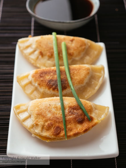 Winter Squash Pot-stickers with Asian Dipping Sauce