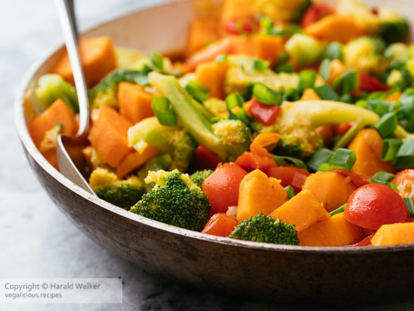 Broccoli and Sweet Potato Stir fry